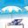 タイのビーチリゾート  アイコン